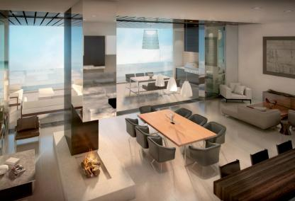 Interior rendering of One88