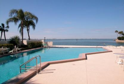 Pool on Sarasota Bay