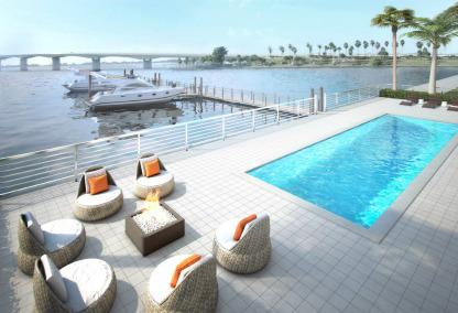 Pool & Bay view - One88